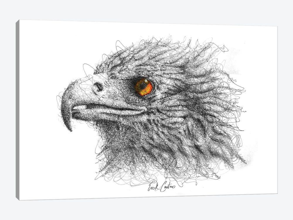 Eagle Eye by Erick Centeno 1-piece Canvas Artwork