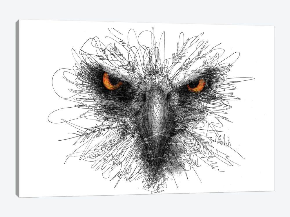 Eagle Look by Erick Centeno 1-piece Canvas Print