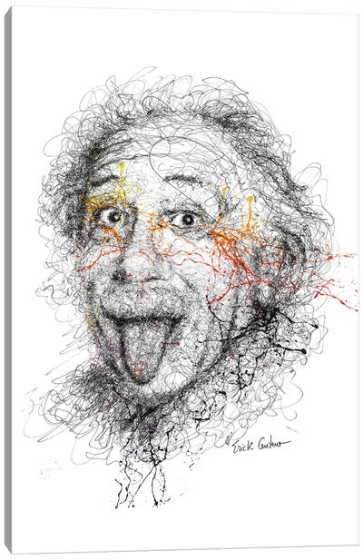 Einstein Canvas Art Print