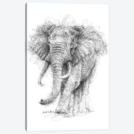 Elephant Canvas Print #ECE18} by Erick Centeno Art Print