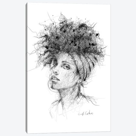 Alicia Keys Canvas Print #ECE1} by Erick Centeno Canvas Print