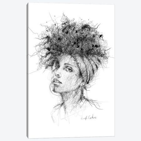 Alicia Keys Canvas Print #ECE1} by Erick Centeno Canvas Print