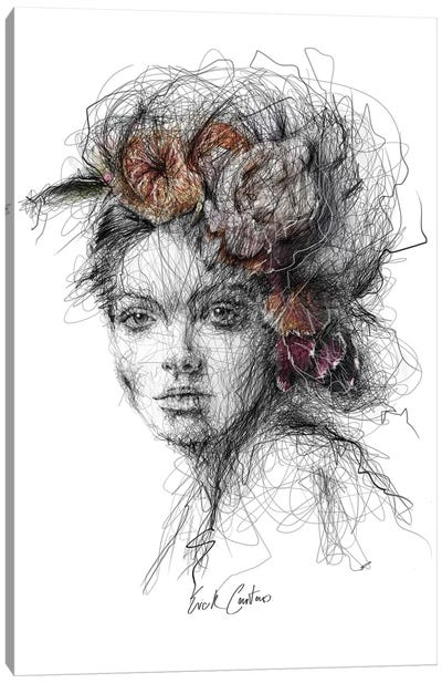 Floral Thoughts II Canvas Art Print