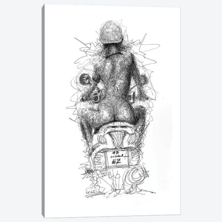 Free Rider Canvas Print #ECE24} by Erick Centeno Canvas Print