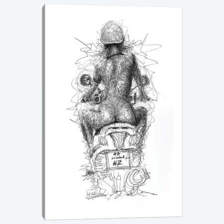 Free Rider 3-Piece Canvas #ECE24} by Erick Centeno Canvas Print