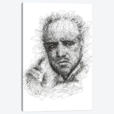 Godfather Canvas Print #ECE27} by Erick Centeno Canvas Print