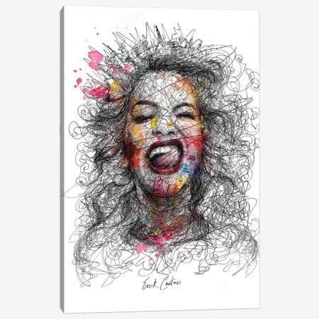 Grimaces Canvas Print #ECE29} by Erick Centeno Canvas Art