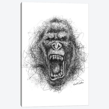 Angry Canvas Print #ECE2} by Erick Centeno Canvas Print