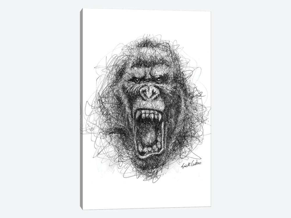 Angry by Erick Centeno 1-piece Canvas Artwork