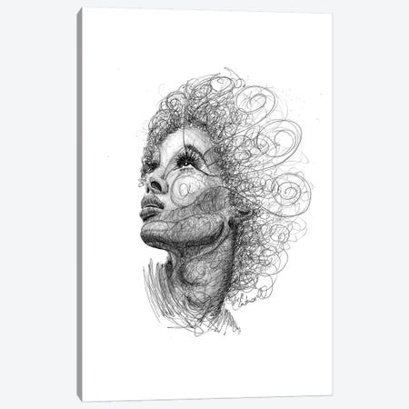 Hairstyle I Canvas Print #ECE30} by Erick Centeno Canvas Print