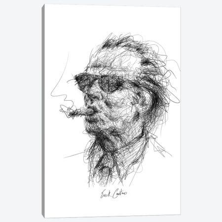 Jack Canvas Print #ECE32} by Erick Centeno Canvas Art Print