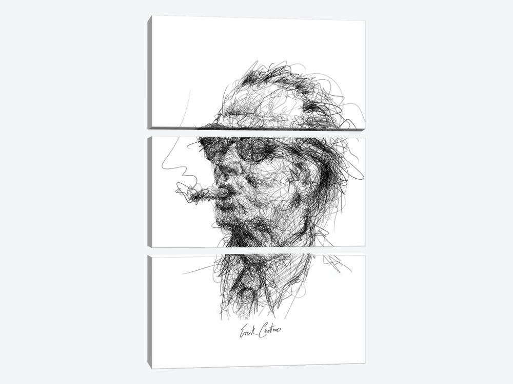 Jack by Erick Centeno 3-piece Canvas Art Print