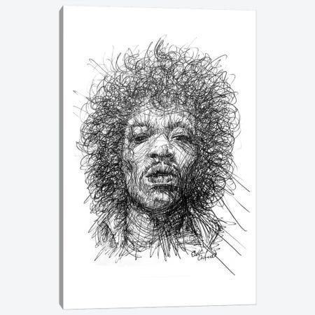 Jimmy Canvas Print #ECE33} by Erick Centeno Art Print