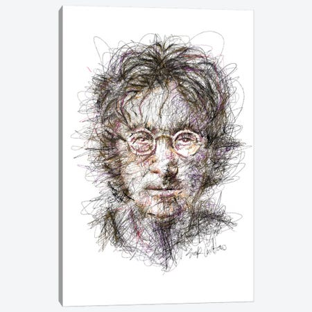 Lennon  Canvas Print #ECE36} by Erick Centeno Canvas Art