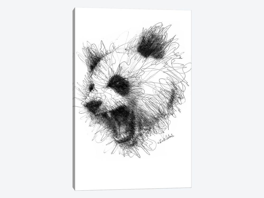 Angry Panda by Erick Centeno 1-piece Art Print