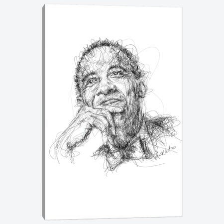 Obama Canvas Print #ECE42} by Erick Centeno Canvas Wall Art
