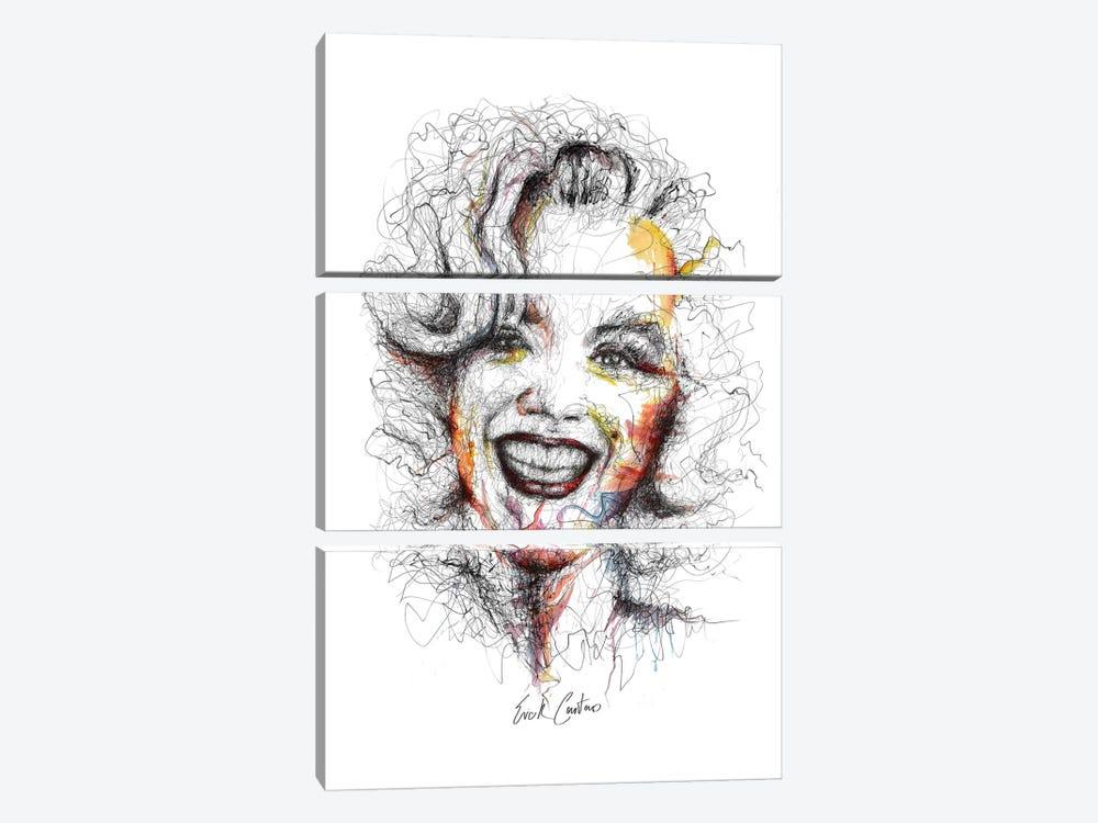 Perennial by Erick Centeno 3-piece Canvas Print