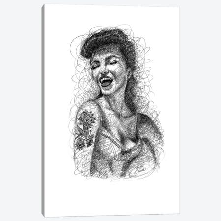Pin-Up I Canvas Print #ECE44} by Erick Centeno Art Print