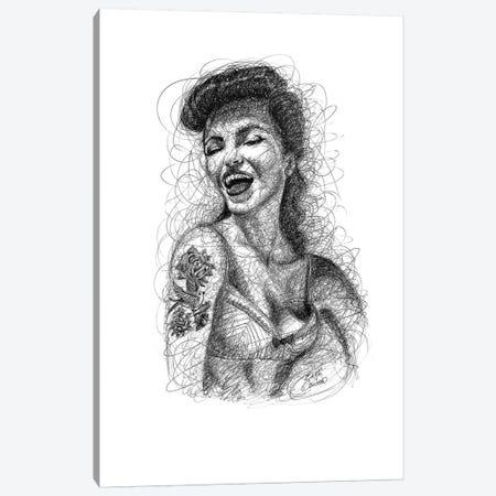 Pin-Up I Canvas Print #ECE44} by Erick Centeno Art Print