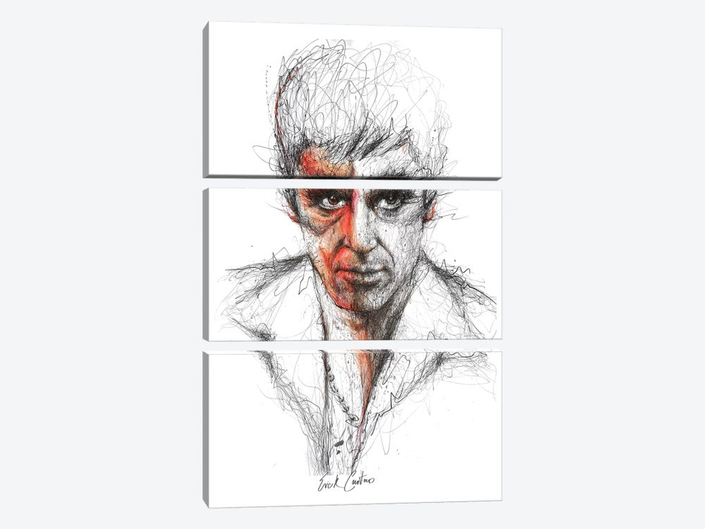 Scarface 3-piece Canvas Art