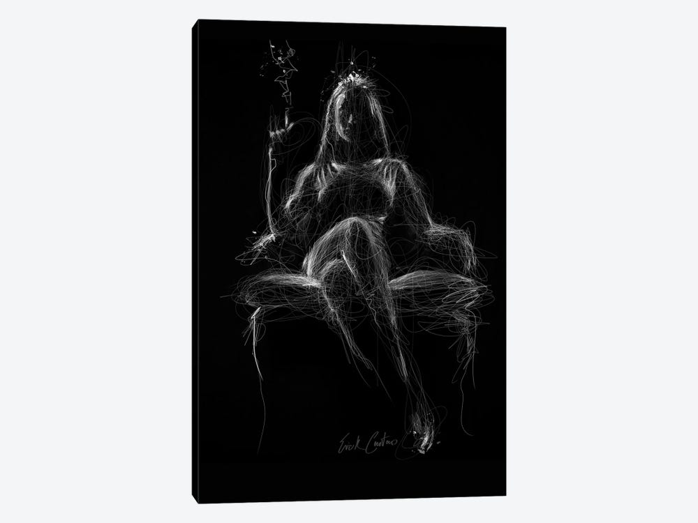 Show Me Your Darkness by Erick Centeno 1-piece Canvas Print