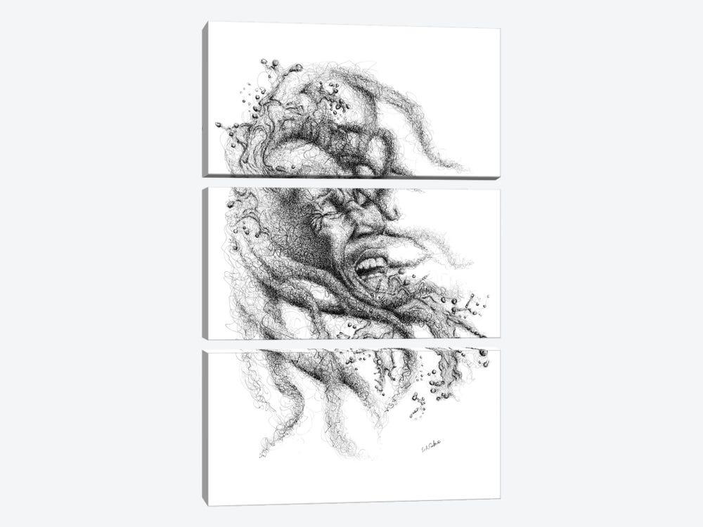 Soul Rebel by Erick Centeno 3-piece Art Print