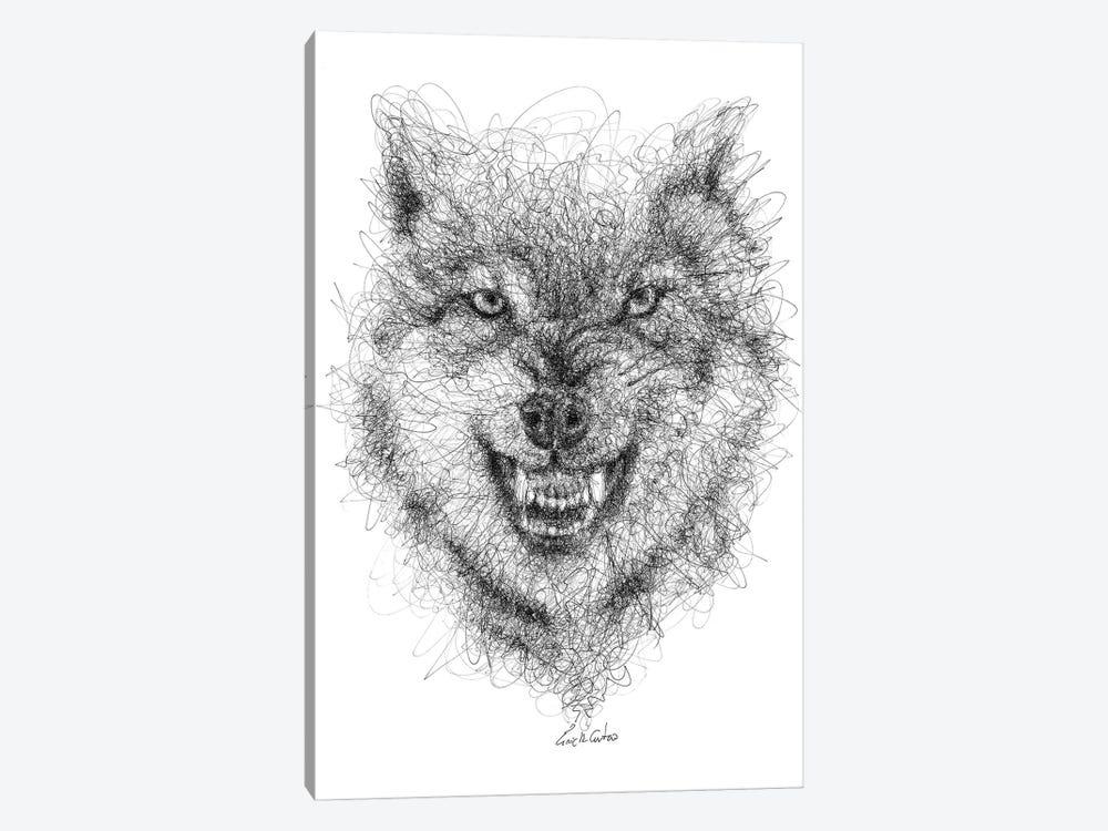 Wolf Look by Erick Centeno 1-piece Canvas Artwork