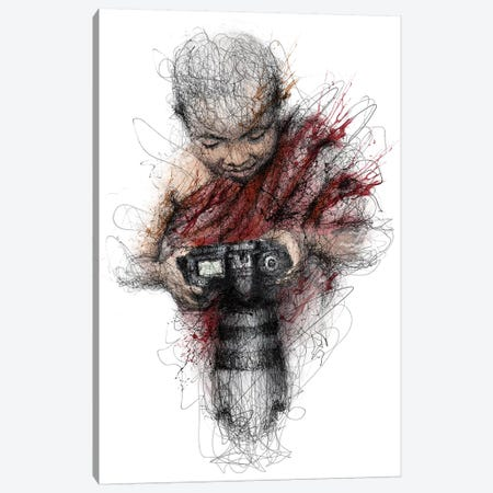 Child Canvas Print #ECE62} by Erick Centeno Canvas Art