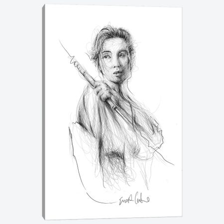 Lady Snowblood Canvas Print #ECE64} by Erick Centeno Canvas Print
