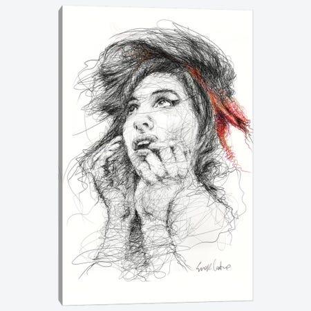 Amy Canvas Print #ECE69} by Erick Centeno Canvas Wall Art