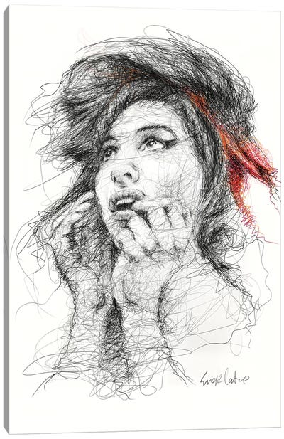 Amy Canvas Art Print