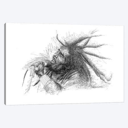 Bob Marley 3-Piece Canvas #ECE6} by Erick Centeno Canvas Art