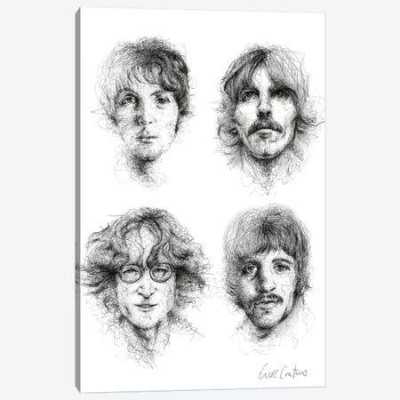 Beatles Canvas Print #ECE70} by Erick Centeno Canvas Print