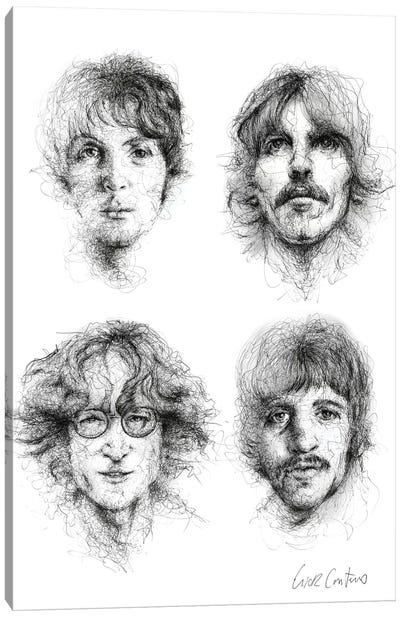 Beatles Canvas Art Print