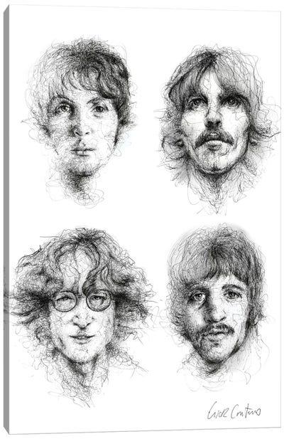 Beatles Canvas Art Print