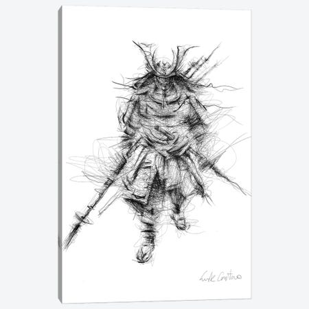 Bushido Canvas Print #ECE71} by Erick Centeno Art Print
