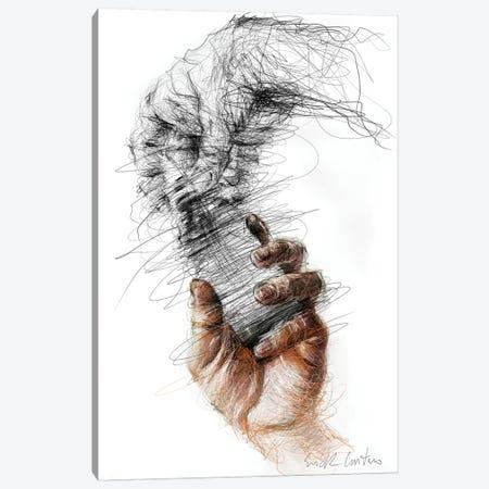 Hands Canvas Print #ECE74} by Erick Centeno Canvas Wall Art