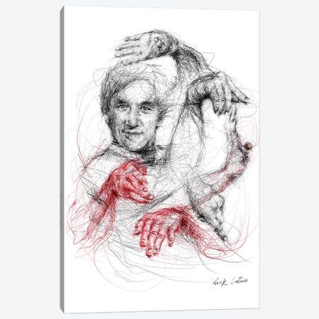 Jackie Chan Canvas Print #ECE75} by Erick Centeno Canvas Art
