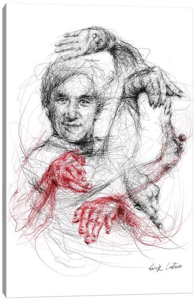 Jackie Chan Canvas Art Print
