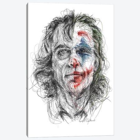Joker Canvas Print #ECE76} by Erick Centeno Canvas Art