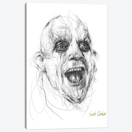 Fester Canvas Print #ECE82} by Erick Centeno Canvas Art