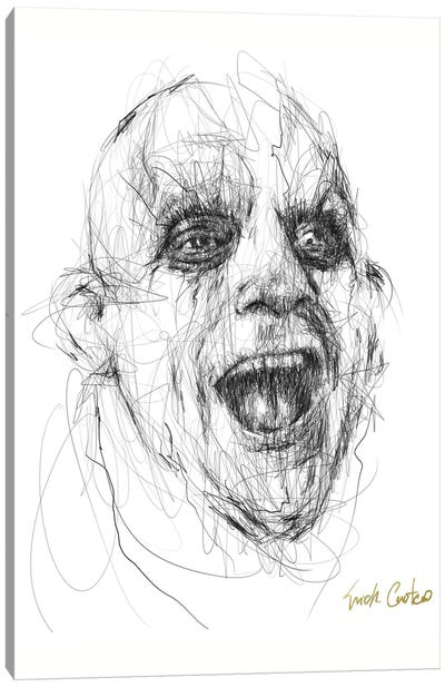 Fester Canvas Art Print
