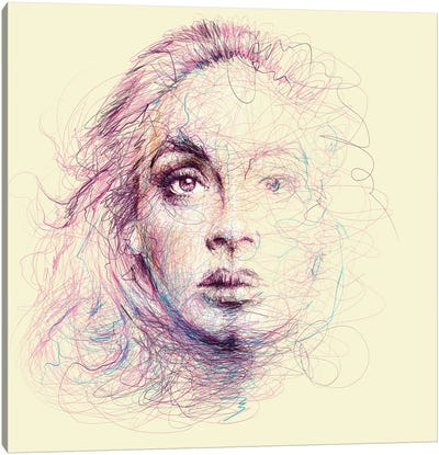 Adele Canvas Art Print