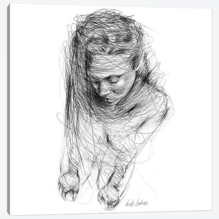Mood Shapes Canvas Print #ECE91} by Erick Centeno Art Print