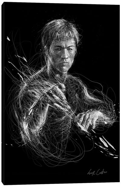 Bruce Lee Canvas Art Print