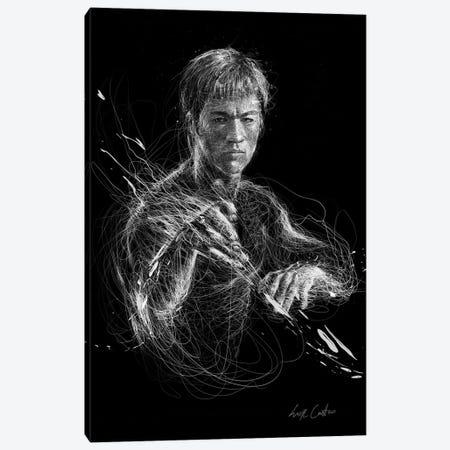 Bruce Lee Canvas Print #ECE94} by Erick Centeno Canvas Artwork