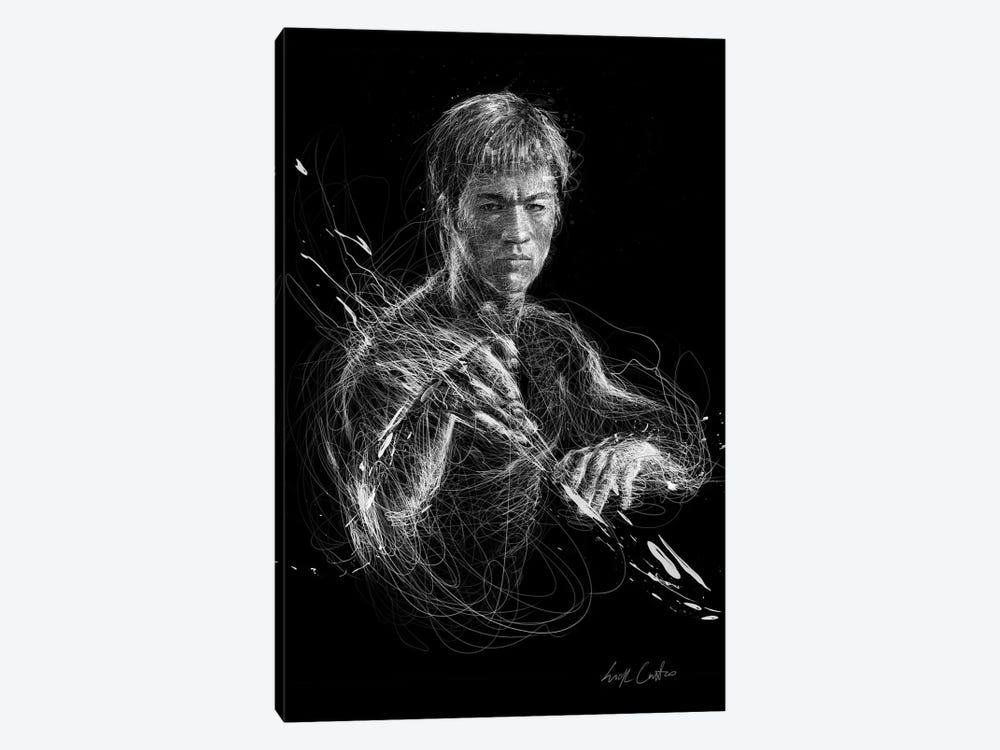 Bruce Lee by Erick Centeno 1-piece Canvas Art Print