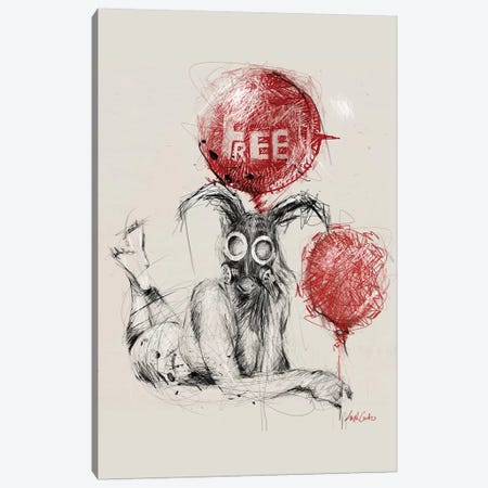 Feel Free Canvas Print #ECE97} by Erick Centeno Canvas Art