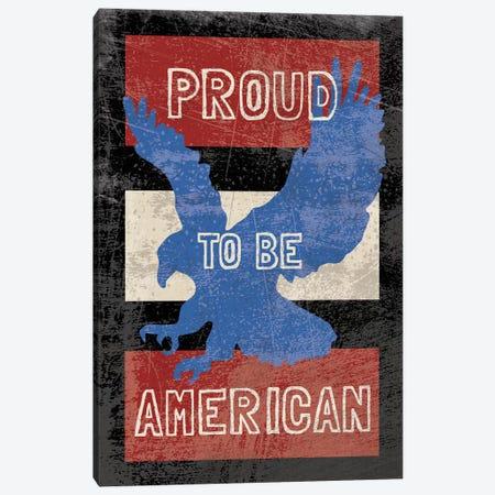 American Textured Canvas Print #ECK102} by Erin Clark Canvas Artwork