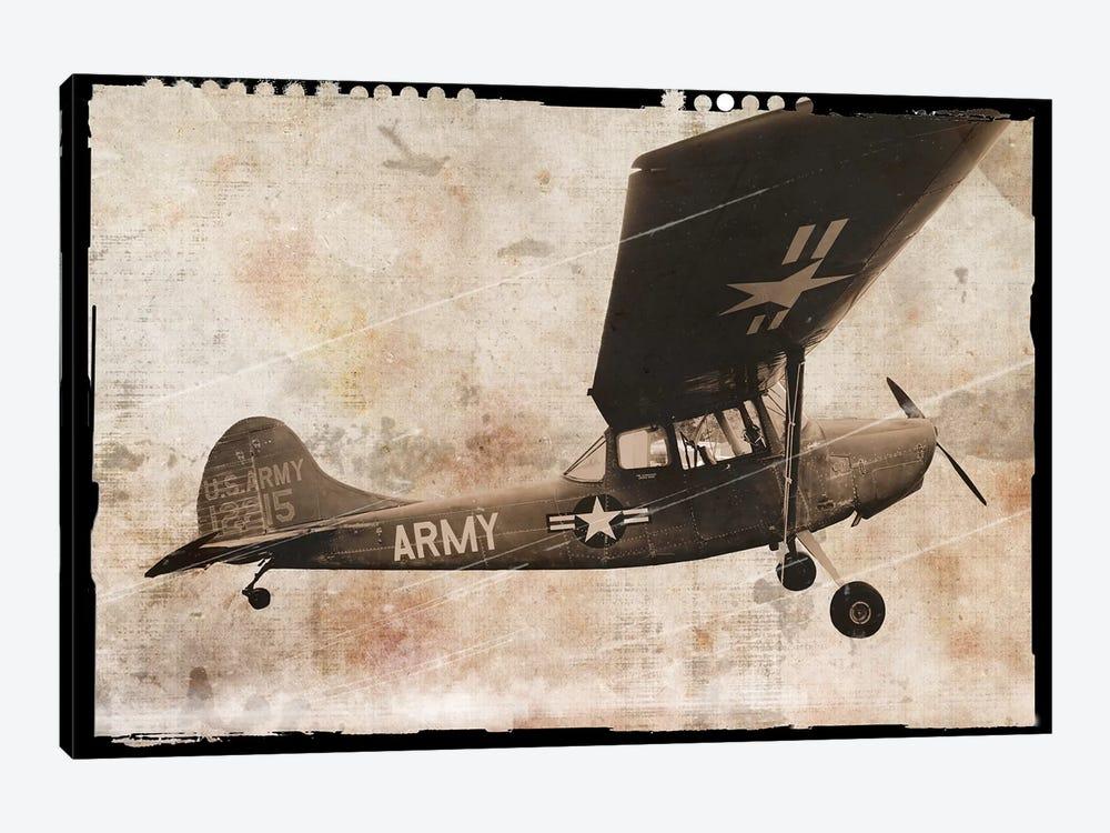 Army Plane by Erin Clark 1-piece Canvas Art Print